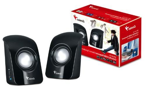 Genius Stereo USB Powered 1.5W and 3.5mm Audio