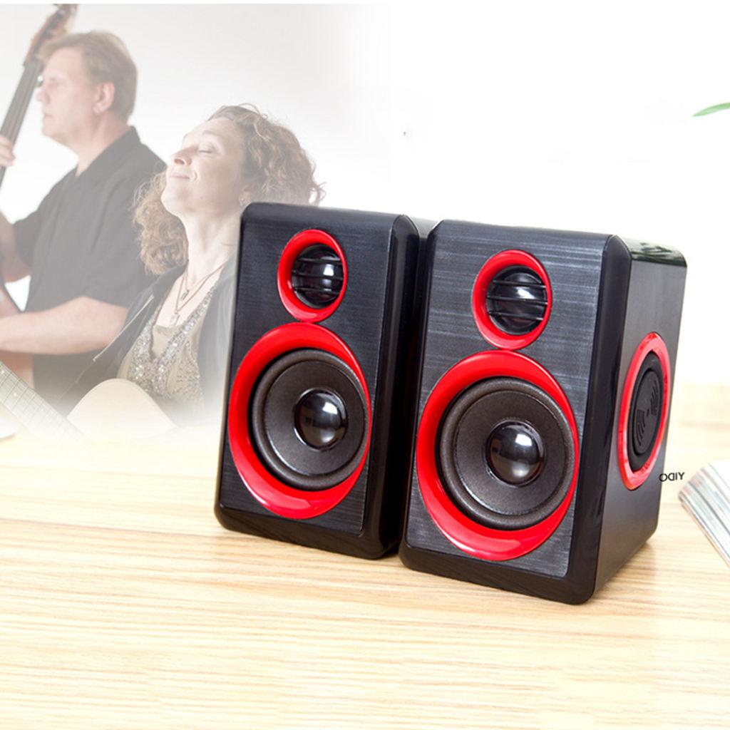 Surround Portable With Bass Wired Powered Desktop For Laptops