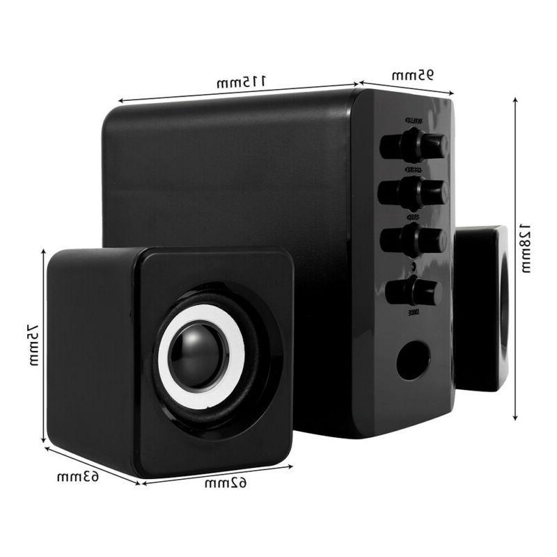 USB 2.1 Computer System Audio Subwoofer Mini
