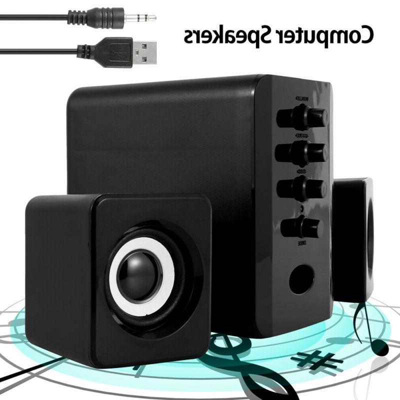 USB System Desktop Audio Player Subwoofer