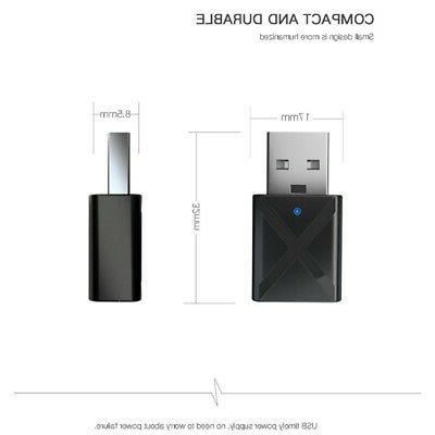 USB Bluetooth Transmitter/Receiver for TV/PC Headphone Speaker