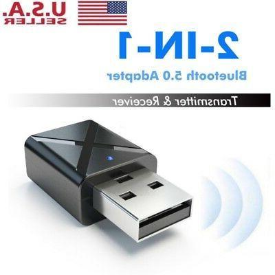 usb bluetooth 5 0 audio transmitter receiver