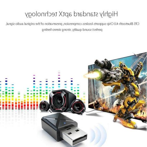 USB Bluetooth Audio Adapter For TV/PC Headphone