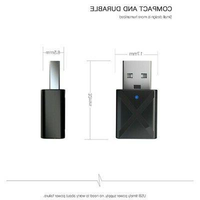USB Bluetooth Receiver Adapter Transmitter TV/PC Headphone