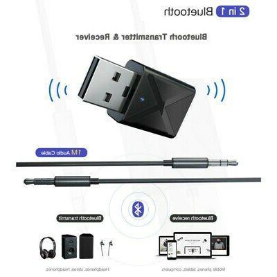 USB Receiver Audio Transmitter Adapter For TV/PC Speaker