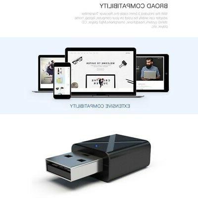 USB 5.0 Transmitter/Receiver TV/PC Headphone Speaker