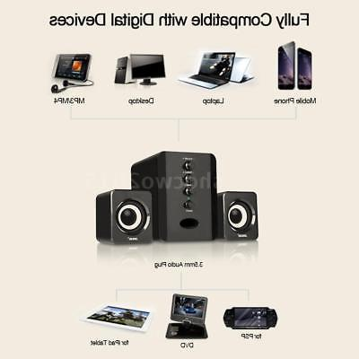 2.1CH System Multimedia Stereo Subwoofer