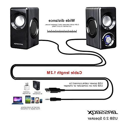 BASSBOX Computer Sound Phone and