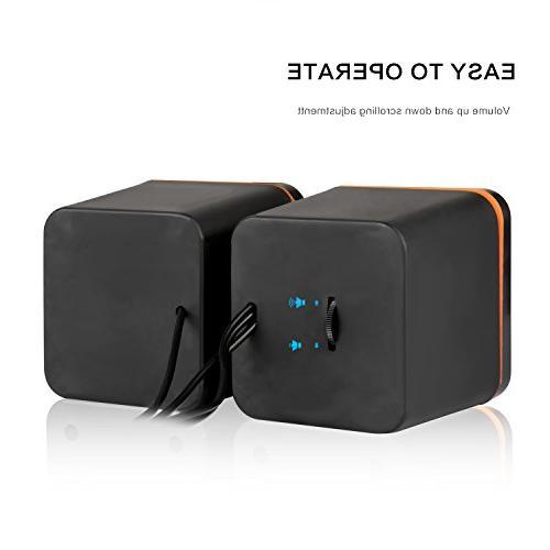 Hoxen Small Speakers Desktop Speakers