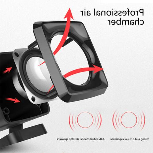 USB Computer Speakers Desktop Lenovo HP Toshiba