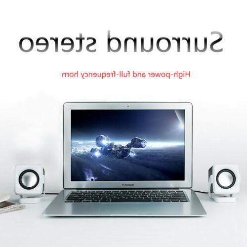USB Computer PC Desktop Laptop Stereo Lenovo HP Sony Toshiba