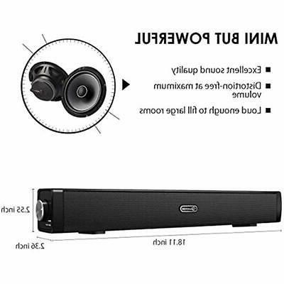 USB Sound Mini Soundbar PC