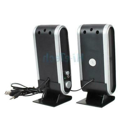 Hot Earphone Jack Speakers Computer Black