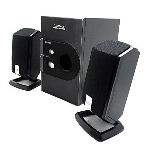 TopePop Speaker Subwoofer Sound Desktop Speaker Player Systems Notebook Computer