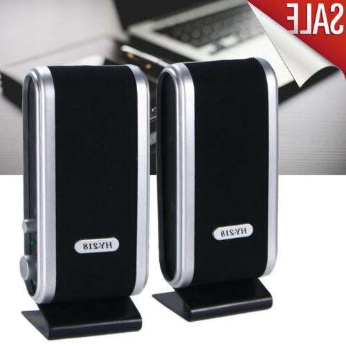 portable mini usb power computer speakers stereo