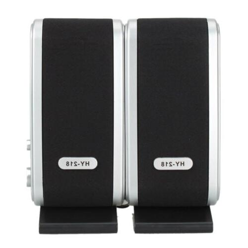 USB Wired Speakers Stereo New