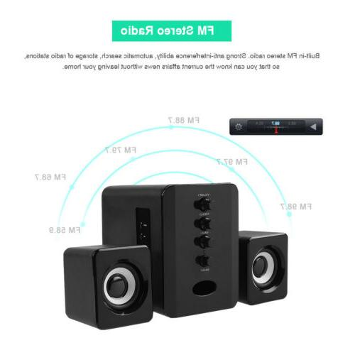 USB powered Speakers Stereo Desktop PC