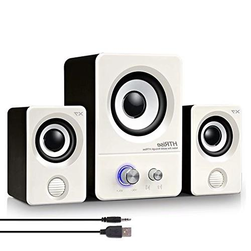 usb powered computer speakers system