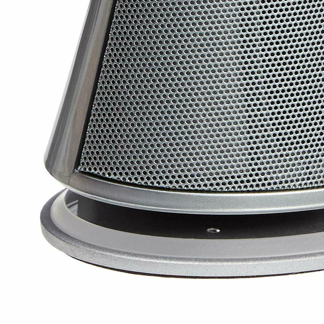 AmazonBasics USB-Powered Speakers with | Silver