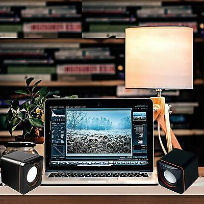 USB Powered Speakers Set Desktop Mac