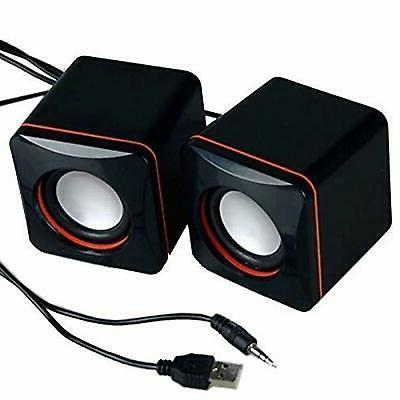 usb powered pc mini speakers set computer