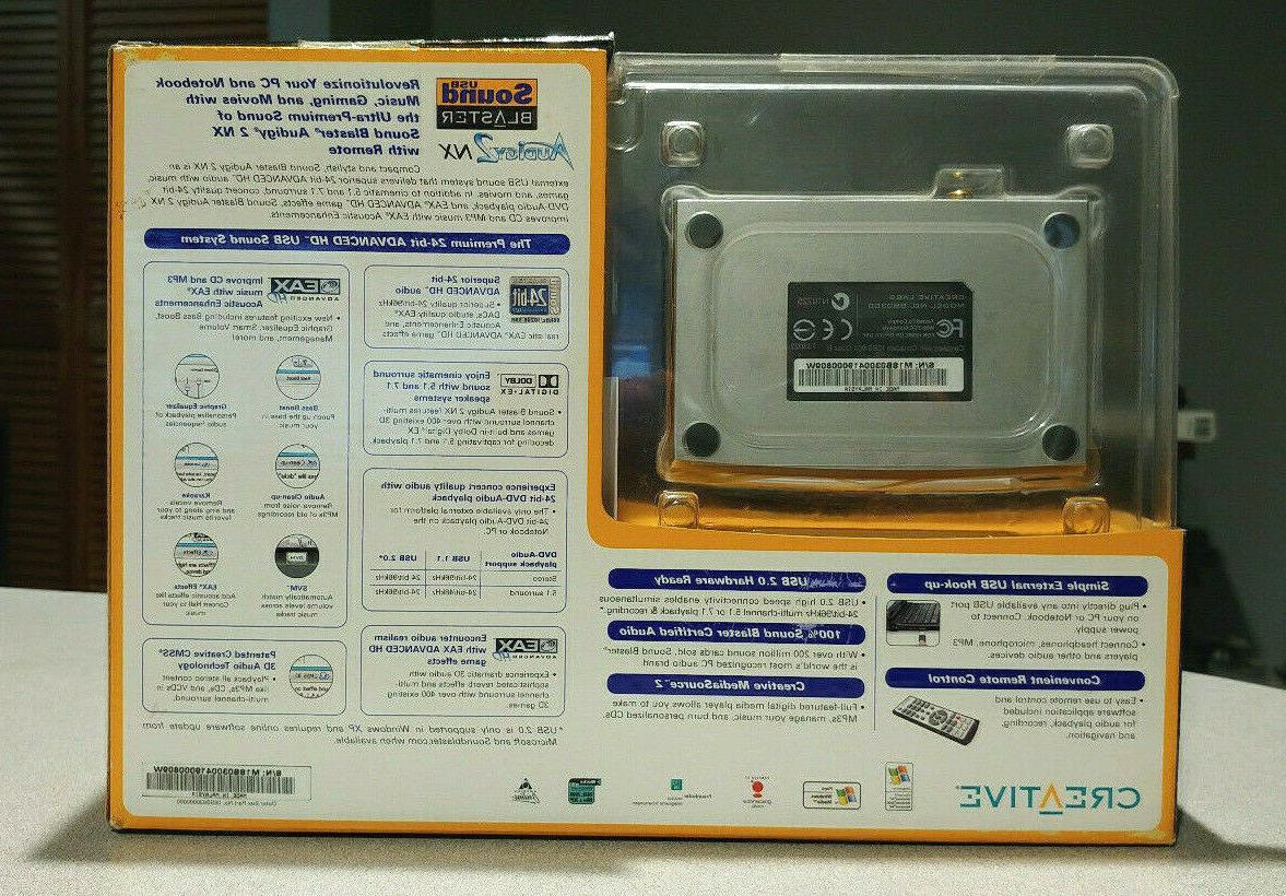 Creative USB Blaster NX Sound Card Sound System