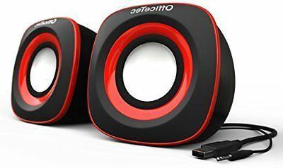 usb speakers compact 2 0