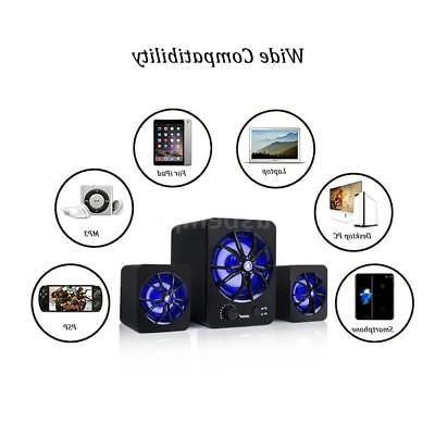 USB Music Stereo Bass Sound For PC Laptop