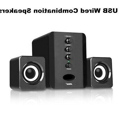 USB Wired Bass Stereo Subwoofer Box Laptop