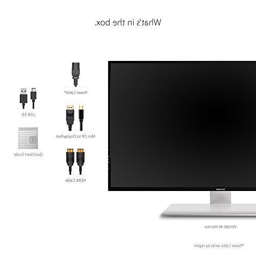 ViewSonic Frameless Monitor HDMI and DisplayPort