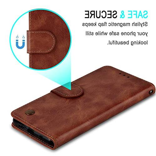 Wallet Aristo 2 Rebel 3 L158VL/LG Rebel 4 Dynasty/LG Phoenix 4, Leather Protective with