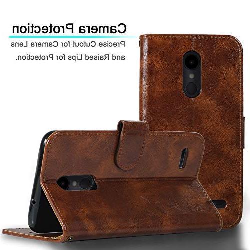 Wallet for Aristo 3 LTE L158VL/LG 4 LTE/LG Dynasty/LG 2018/ LG Phoenix with Kickstand