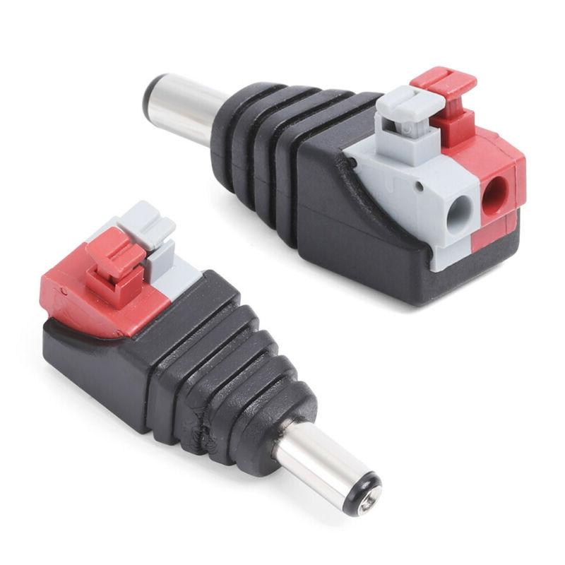 rca wire a v male connector adapter