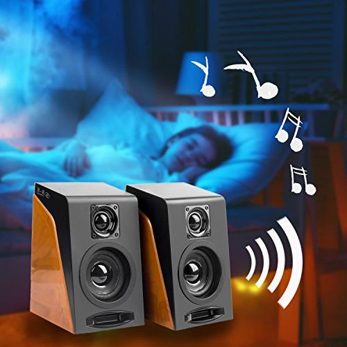 Wired Speakers, Stereo Speakers Volume Ideal PC, Tablet