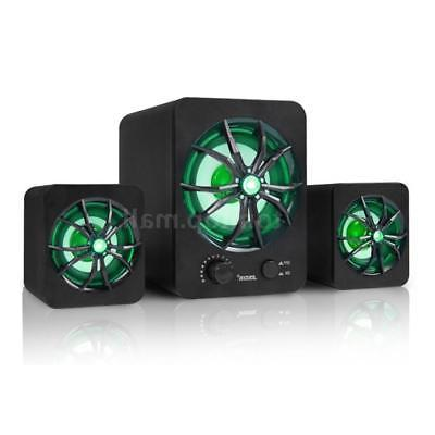 Wired Computer Stereo Colorful LED For Laptop