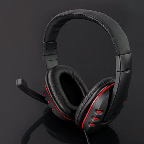 wired usb game stereo headset