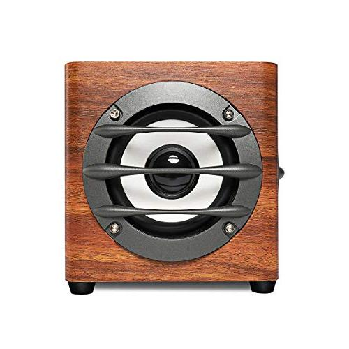 JELICH Wood Speaker Wired Powered with Bass PC /Desktop /Smart Phone