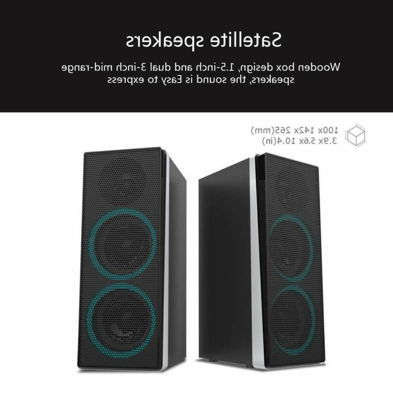 ineo Wooden Speakers Individual Control