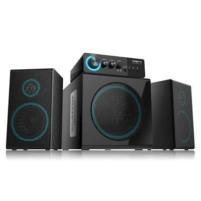 wooden 2 1 gaming speakers
