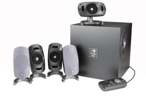 c161d9322c5 Logitech Z-5300 5.1-Channel Surround Speaker System