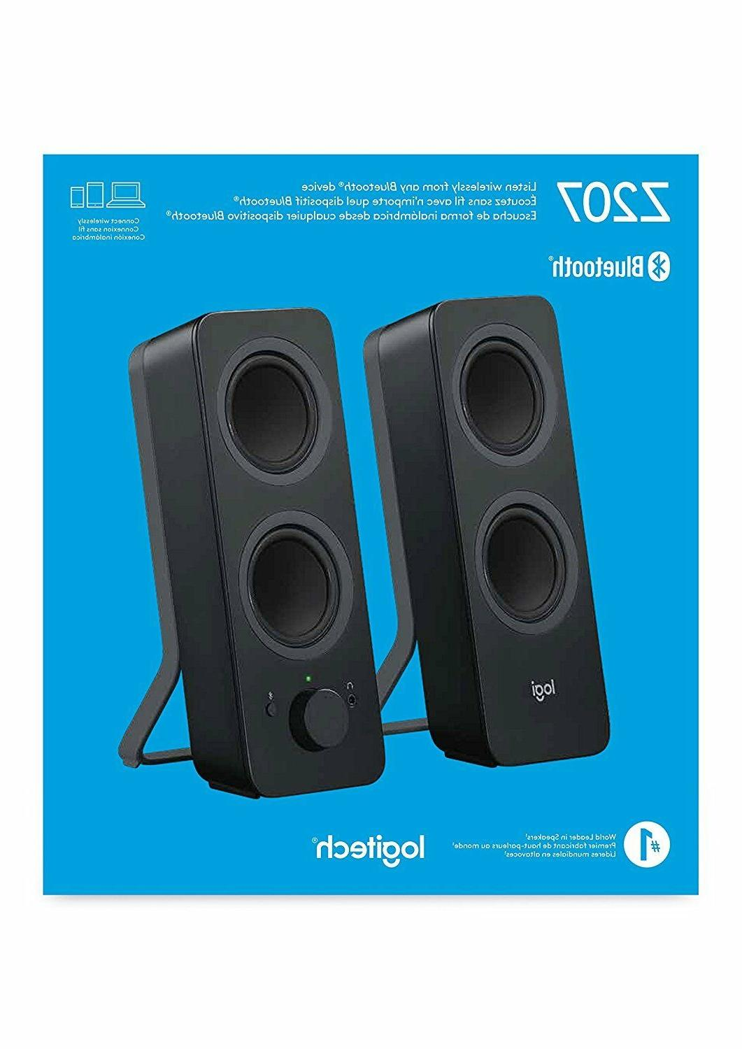 fcc03b955aa Computer Speakers White Logitech Z207 2.0 Multi Device Stereo Speaker Audio  & Video Accessories