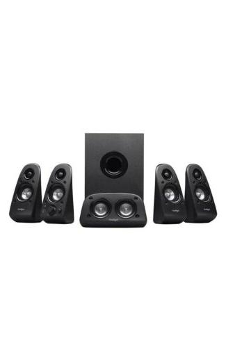 Logitech 5.1 Sound Home Theater System 75 Watts
