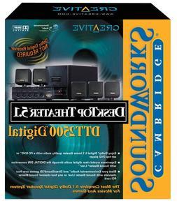 Creative Labs DeskTop Theater 5.1 DTT2500 Digital Computer S