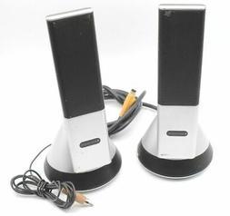 lansing vs4221 pc multimedia speaker pair used