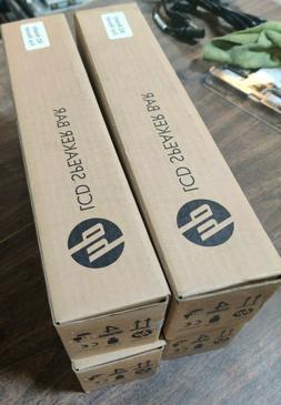 HP LCD Black Speaker Bar P/N NQ576AA Lot of 4 Brand New in B