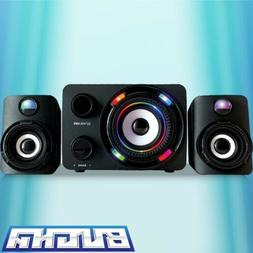 BUGHA LED Gaming Speakers With Subwoofer! Brand new! Compati