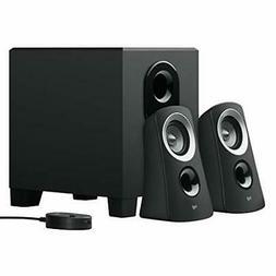 Logitech PC speakers PC Z313 black stereo 2.1ch subwoofer co