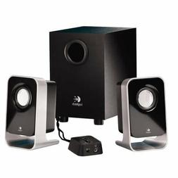 Logitech LS-21 2.1Ch Multimedia Stereo Speaker System With S