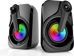 Maboo USB Powered Sound Bar Speakers for Computer Desktop La