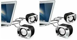 Mini Computer Speaker USB PC Desktop Laptop TV Stereo Sound
